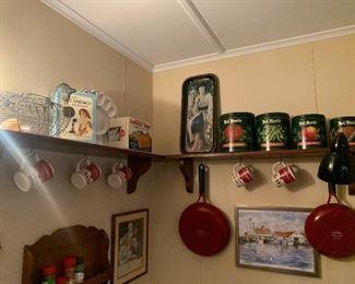 Campbells soup and Coca Cola items