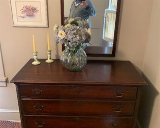 Antique hathaway dresser and mirror $200