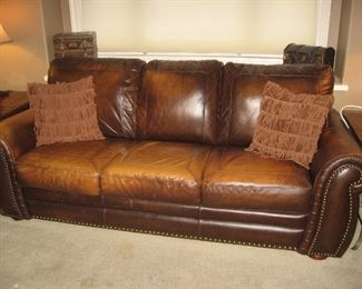 Superb Creations Leather Sofa...