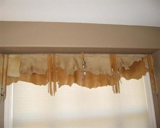 Leather Valance...