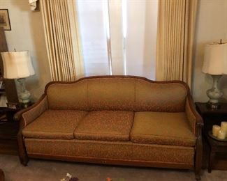 1930's mint condition sleeper sofa