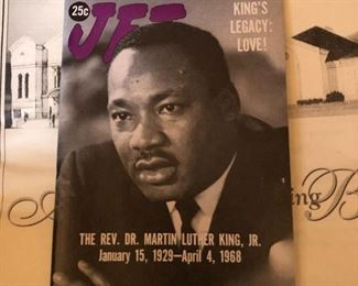 Original Jet Magazine from 1968. Feature of Martin Luther King's Death