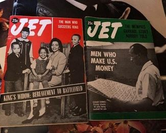 More mint condition jet magazines pertaining to civil rights