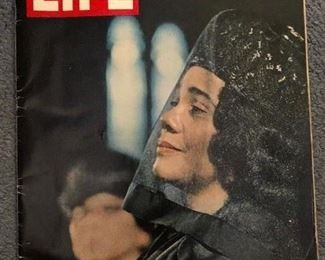 1968 Life Magazine. Featuring Coretta Scott King. By the way, the family is related to the Coretta Scott