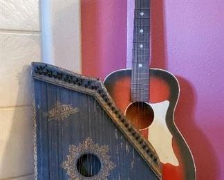Autoharp and Guitar