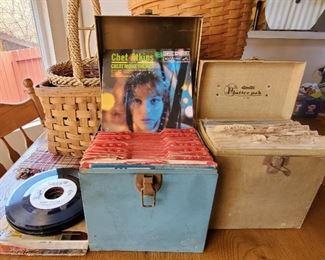Vintage 45 Vinyl Records