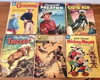 Western Theme Vintage Comic Books