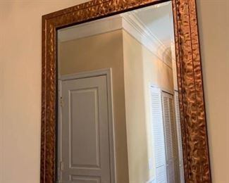 Brass Colored Wall Mirror
