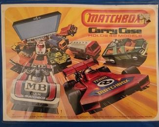 Matchbox Car Carry Case