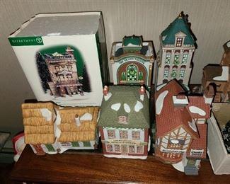 MASSIVE Christmas Village Collection