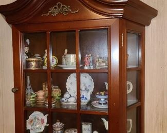 China Cabinet W/ Contents
