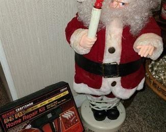 Animated Santa Doll