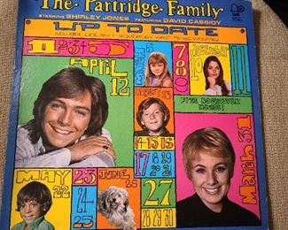 Partridge Family Record Album