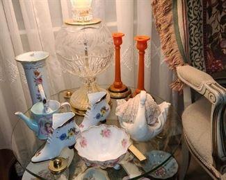 China & Crystal Lamp