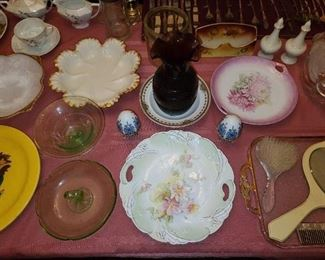 Assorted China, Glassware, and Crystal