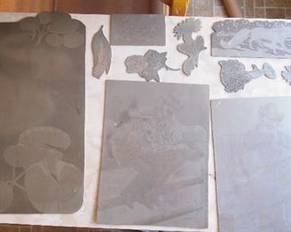 Art etchings