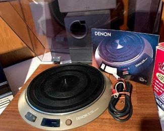 Denon DP1000 Turntable (no Tone Arm)!