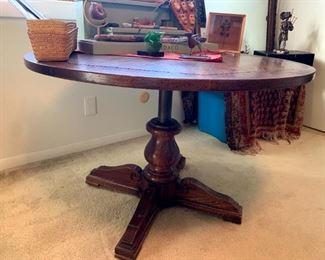 Vintage Hi-Lo Adjustable Table!