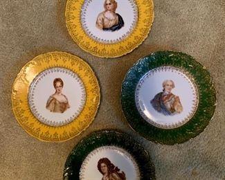 C.T. German Plates $25/Set of 4!