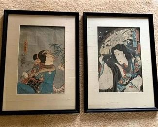 Japanese Woodblock Prints!