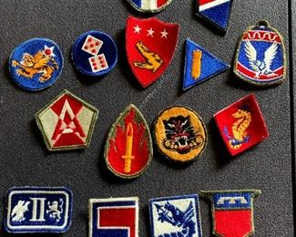 WWII Army Patches!