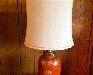 Mid Century Asian Leviton Lamp!