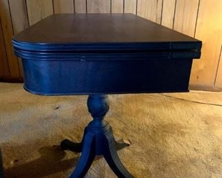 Victorian Folding Parlor Table Closed!