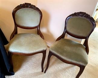 Victorian Parlor Chairs!
