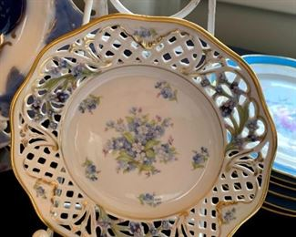 """Vintage Schumann """"Forget me Not"""" Plate!"""