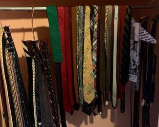 Lots of Great Ties & Belts!