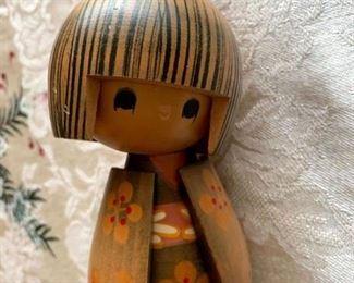 Wood Kokeshi Doll!
