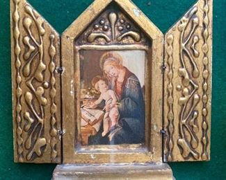 Madonna Triptych Made in Italy!