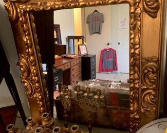 Ornate Gold Mirror!