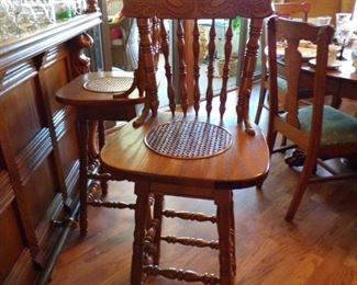2 of these swivel bar stools