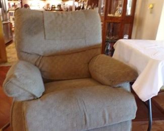 recliner, fabric