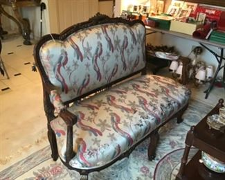 Antique Settee $1,200