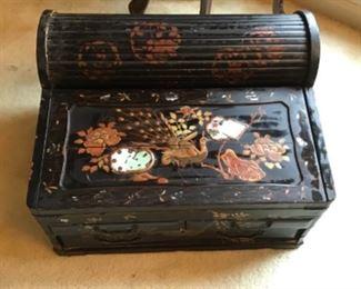 Antique Lap Desk Japanese $225