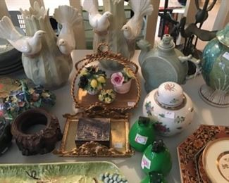 The land of Ceramic Goodies. This wide range of items vary in origin but are all priced to move