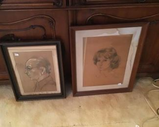 Drawings $3 and $10