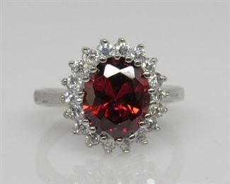 3.3 ct ruby ring
