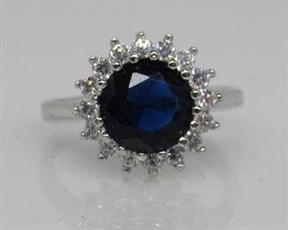2.84 ct sapphire ring