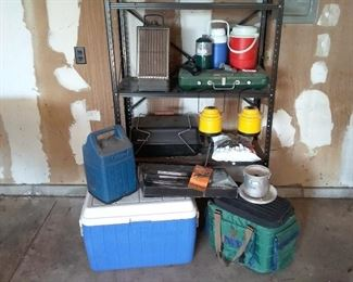 Camping Lot Mania Stove Grill, Coolers, Lanterns, Thermos