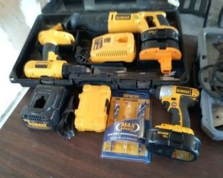 DeWalt Battery Powered Tools More
