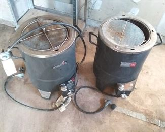 Two CharBroil Oilless Turkey Fryers