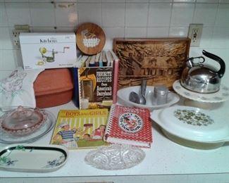 Vintage Pyrex, Revere Tea Kettle