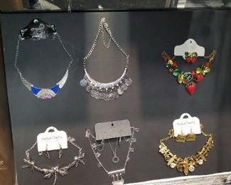 Necklaces and Necklace Sets. More that are not pictured here.