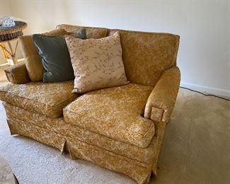 vintage upholstered loveseats, 2