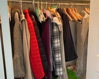 Womens' clothing; outerwear