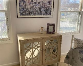 mirrored dresser; 2 available