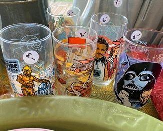 Star Wars vintage glasses